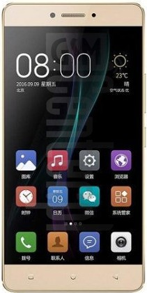 GIONEE X1s image on imei.info