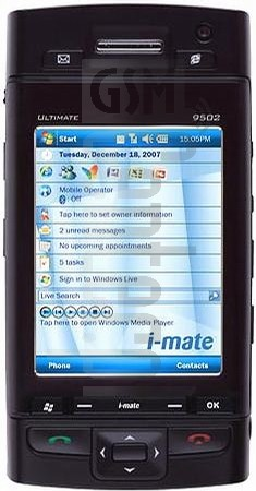 I-MATE Ultimate 9502 image on imei.info