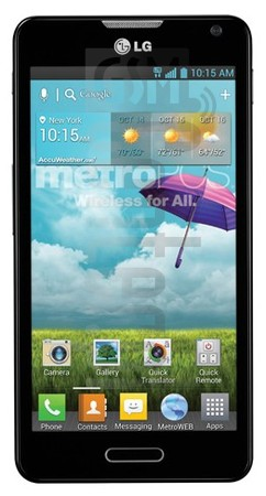 LG MS500 Optimus F6 image on imei.info