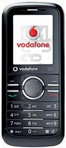VODAFONE 527 image on imei.info
