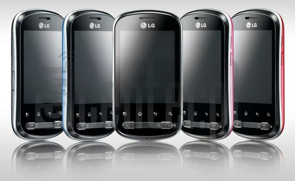 LG P350 Optimus Me image on imei.info