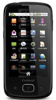 CoolPAD W708 image on imei.info