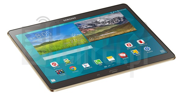 SAMSUNG T805K Galaxy Tab S 10.5 LTE-A image on imei.info