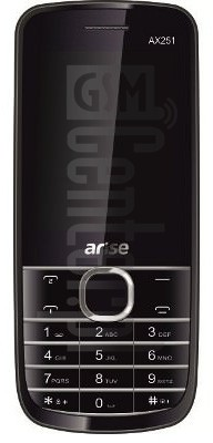 ARISE AX251 image on imei.info