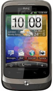 HTC Wildfire image on imei.info