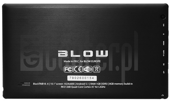 BLOW BlackTAB10.4 image on imei.info