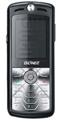 GIONEE L698 image on imei.info