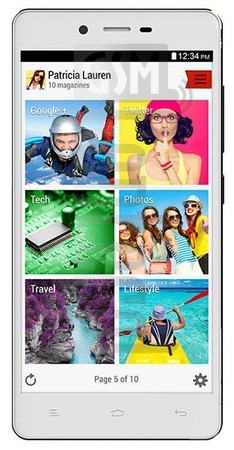 BLU Studio Energy D810L image on imei.info