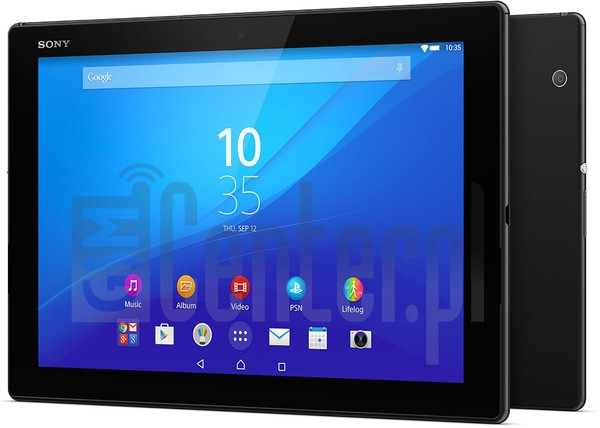 IMEI Check SONY Xperia Z4 Tablet WiFi on imei.info