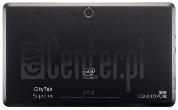 "COLOROVO CityTab Supreme 10.1"" 3G image on imei.info"