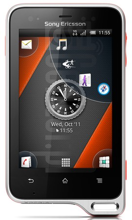 SONY ERICSSON Xperia Active ST17i  image on imei.info
