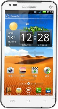 CoolPAD 8190 image on imei.info