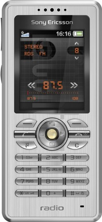 SONY ERICSSON R300 Radio image on imei.info