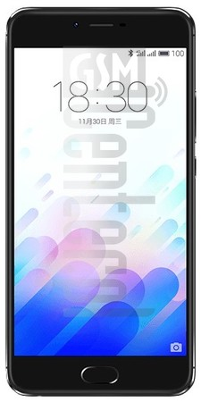 MEIZU X image on imei.info