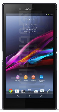SONY Xperia Z Ultra C6833 image on imei.info