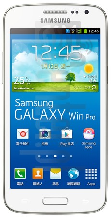 IMEI Check SAMSUNG G3818 Galaxy Win Pro on imei.info