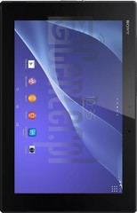 IMEI Check SONY Xperia Tablet Z2 3G/LTE on imei.info