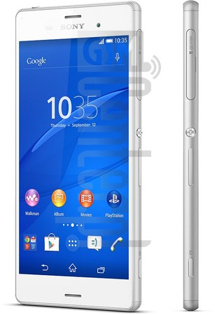 IMEI Check SONY Xperia Z3 D6603 on imei.info
