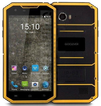 IMEI Check GOCLEVER Quantum 5 500 Rugged on imei.info
