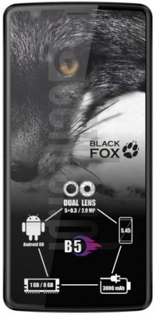 BLACK FOX B5 image on imei.info