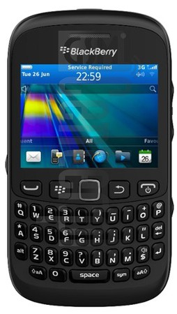 BLACKBERRY 9310 Curve image on imei.info