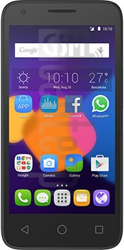 ALCATEL Pixi 3 4.5 image on imei.info