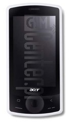 ACER E100 beTouch image on imei.info
