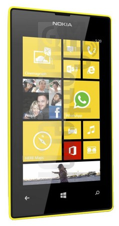 NOKIA Lumia 520 image on imei.info