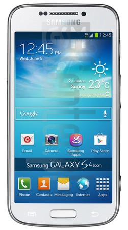 SAMSUNG Galaxy S4 Zoom image on imei.info