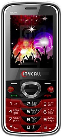 CITYCALL M4000 image on imei.info