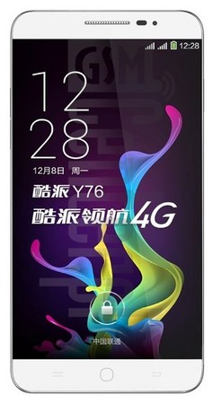 CoolPAD Y76 image on imei.info