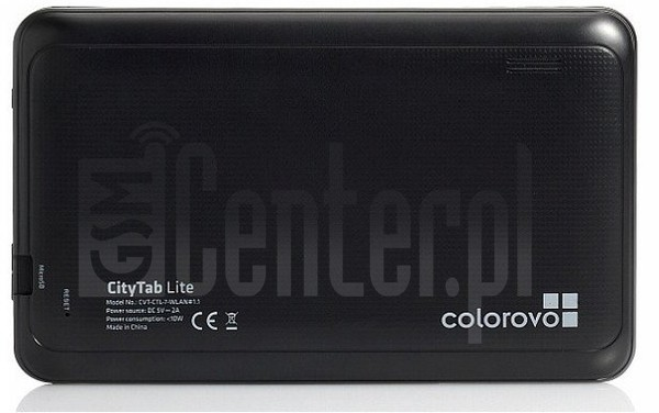 "COLOROVO CityTab Lite 7"" 1.1 image on imei.info"