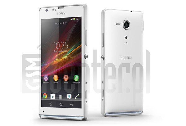 SONY Xperia SP C5303 image on imei.info