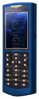 GRESSO Skeleton Ultramarine Gold image on imei.info