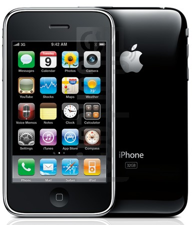 APPLE iPhone 3GS image on imei.info