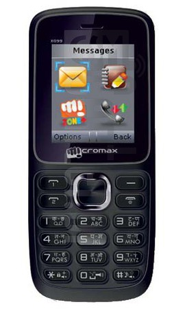 MICROMAX X099 image on imei.info