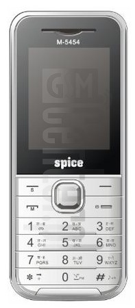 SPICE M-5454 image on imei.info