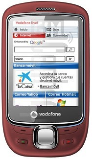 VODAFONE Indie image on imei.info