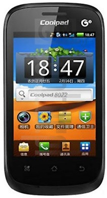 CoolPAD 8022 image on imei.info