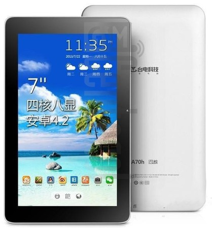 TECLAST A70h Quad image on imei.info