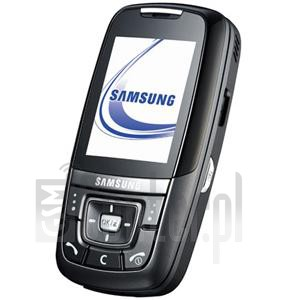 SAMSUNG D608 image on imei.info