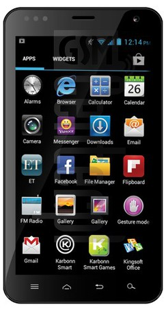 KARBONN A30 image on imei.info