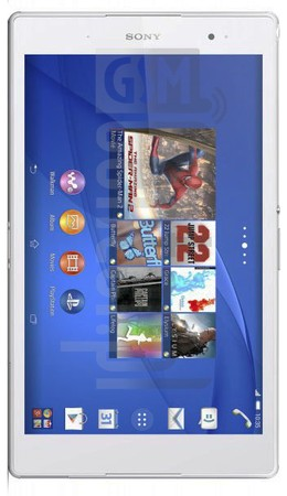 SONY SGP621CE Xperia Z3 Tablet Compact LTE image on imei.info