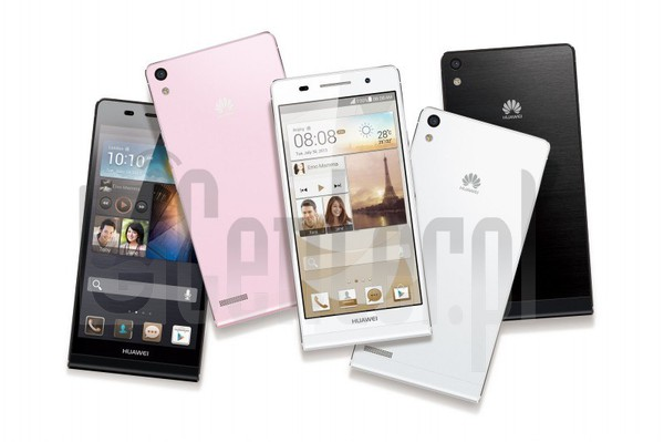 HUAWEI Ascend P6 EDGE-U00 image on imei.info