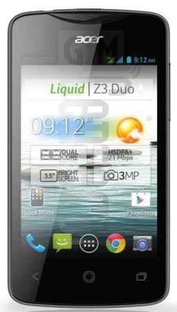 ACER Liquid Z3 image on imei.info