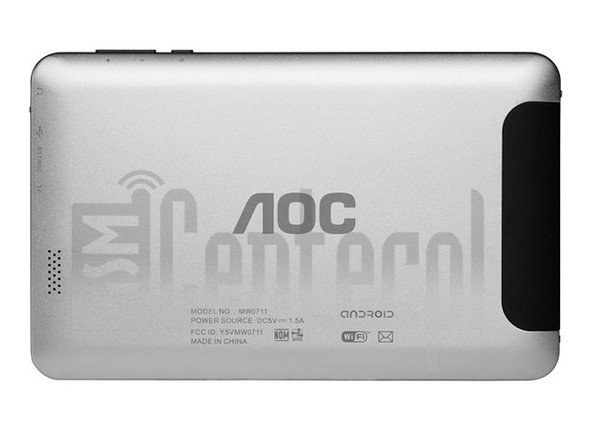 "AOC MW0711 Breeze Tab 7"" image on imei.info"