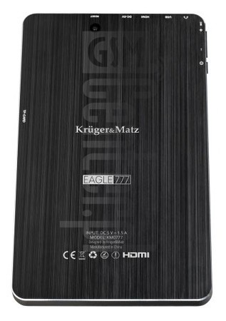 KRUGER & MATZ Eagle 777 image on imei.info