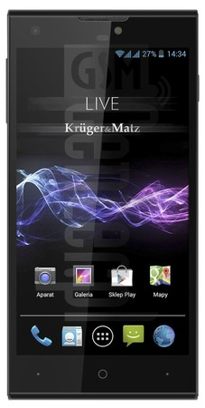 KRUGER & MATZ LIVE 2 LTE image on imei.info