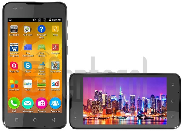 MICROMAX Canvas Blaze 4G Q400 image on imei.info