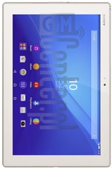 IMEI Check SONY SGP712 Xperia Z4 Tablet Wi-Fi on imei.info